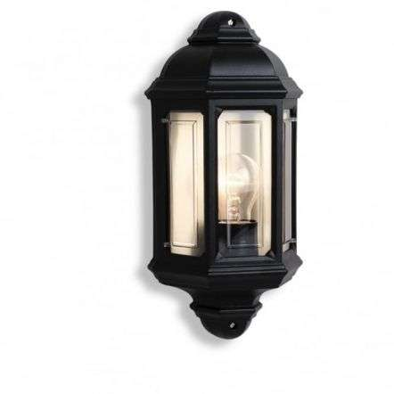 Half wall lights half lantern outdoor wall lights outsidelights mozeypictures Image collections