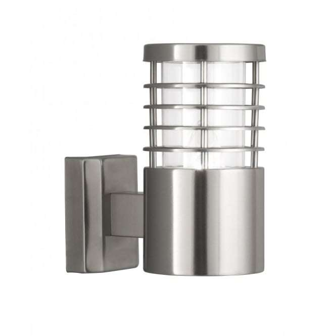 Searchlight 1555ss Satin Silver Ip44 Outdoor Light With Polycarbonate Diffuser Outside Lights