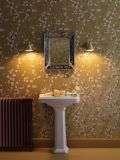 Avon IP44 Butter Brass Single Wall Light