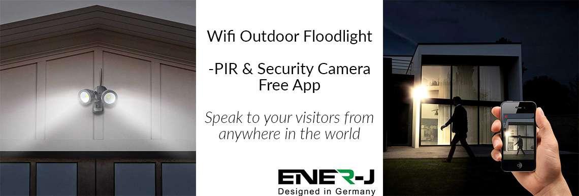 Wifi Outdoor 20W LED Floodlight